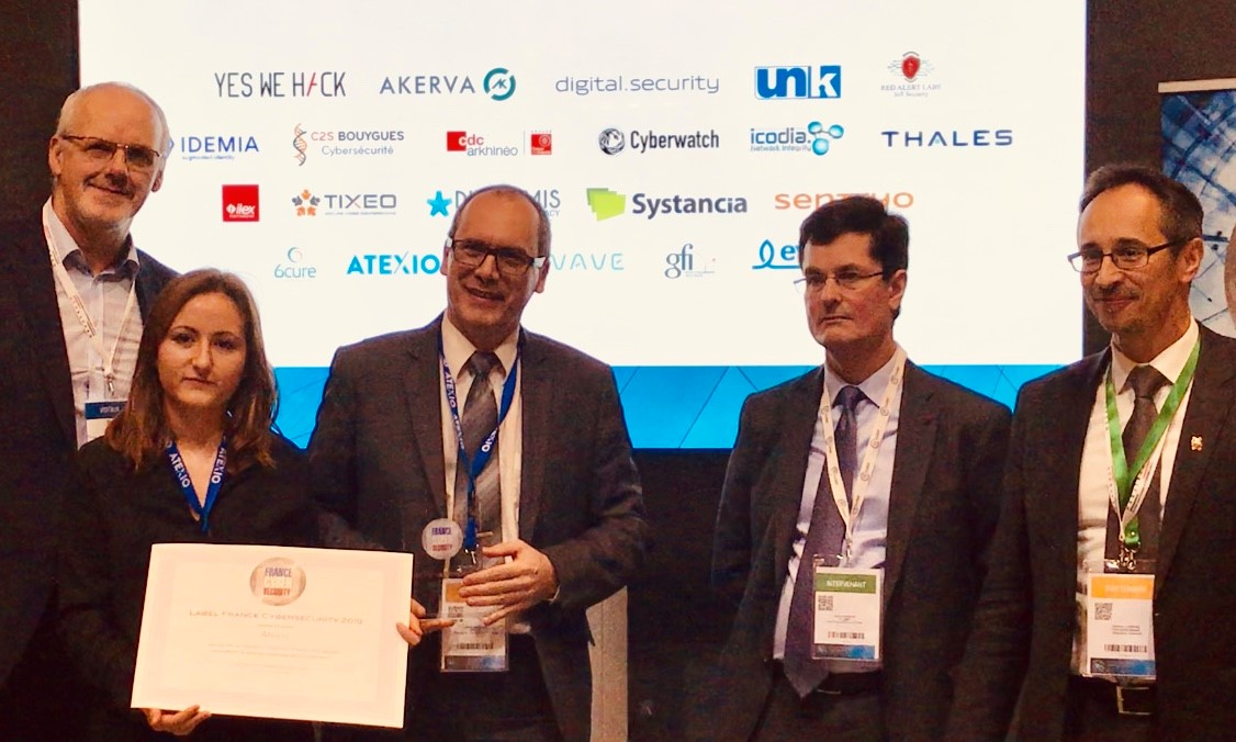 ATEXIO renouvelle son Label France Cybersecurity !