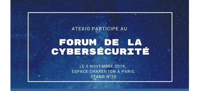 ATEXIO présent au forum de recrutement de la Cybersécurité