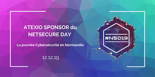 ATEXIO partenaire du NetSecure Day 2019 à Rouen