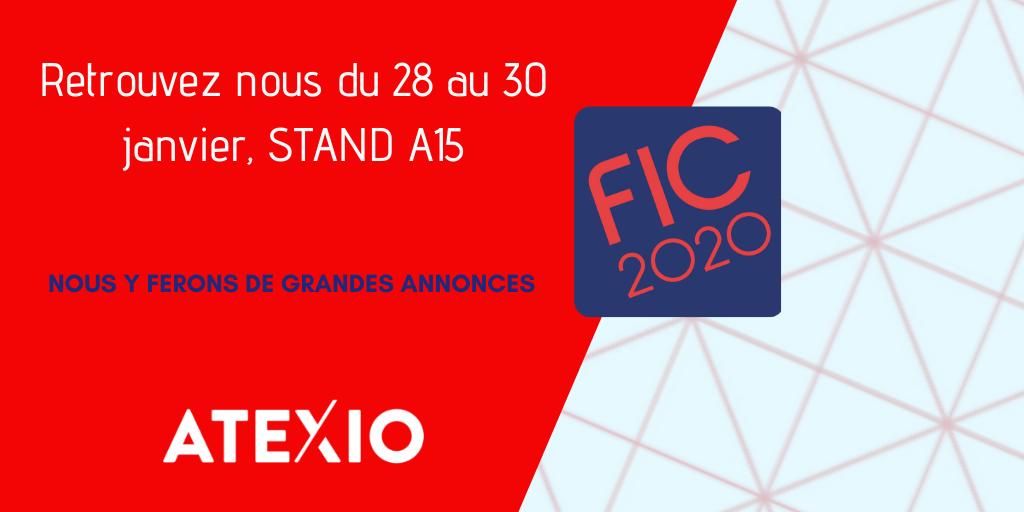 ATEXIO Partenaire du FIC 2020