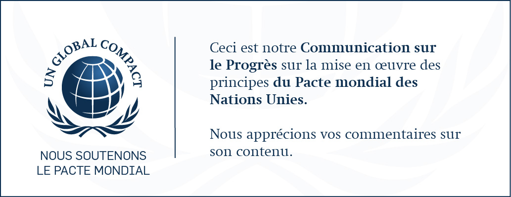 RSE : MANIKA adhère de nouveau à la COP GLOBAL COMPACT des Nations Unies