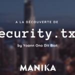 découverte de security.txt