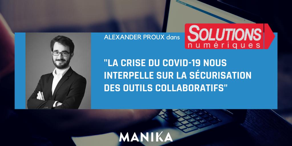 [Article] La crise du Covid nous interpelle sur la sécurisation des outils collaboratifs