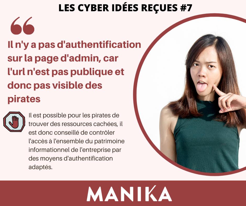 les idées reçues de la cybersécurité 7
