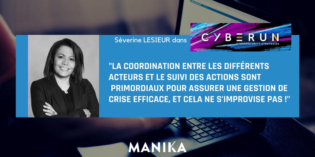 [Article] Séverine Lesieur dans Cyberun : retour d'expérience d'une gestion de Crise