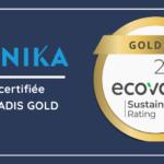 gold ecovadis MANIKA