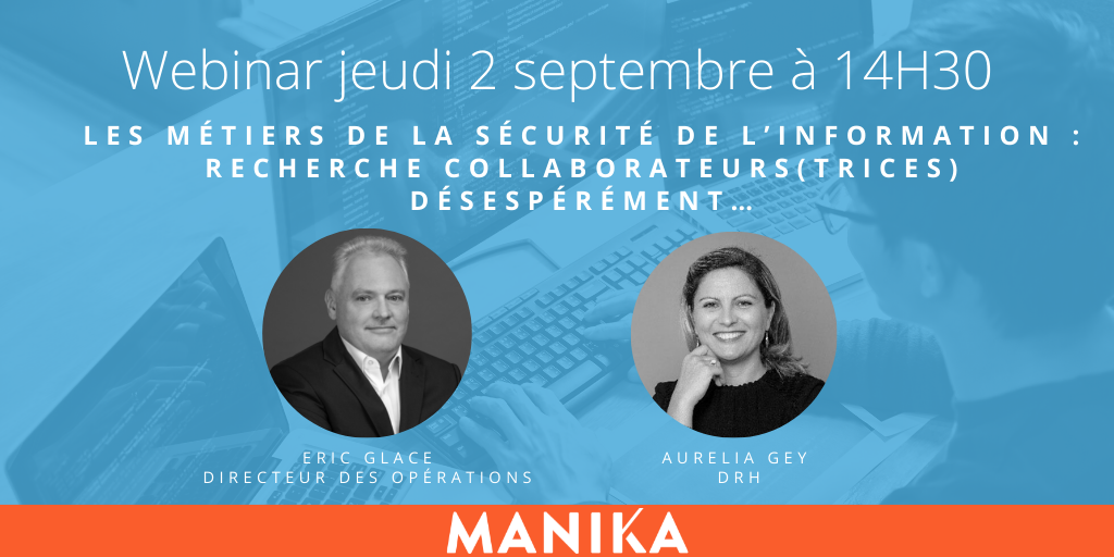 [webinar] Les métiers de la sécurité de l'information : collaborateurs(trices) wanted !